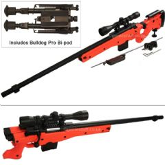 WELL L96 AWF Airsoft Sniper Rifle with 3-9x40 Scope & Metal Bipod